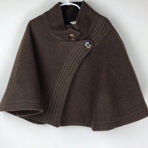 Marc Jacobs | Wool Blend Shrug Poncho Cape